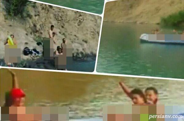 بعد از سد لفور حالا کشف حجاب در دریاچه ولشت توسط دختران برهنه !!!