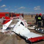 جزئیات سقوط هواپیمای فوق سبک در گرمسار سمنان