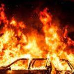 راز عجیب آتش سوزی خودرو خارجی در آبادان