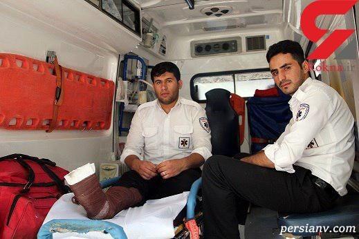 حمله به اورژانس اصفهان