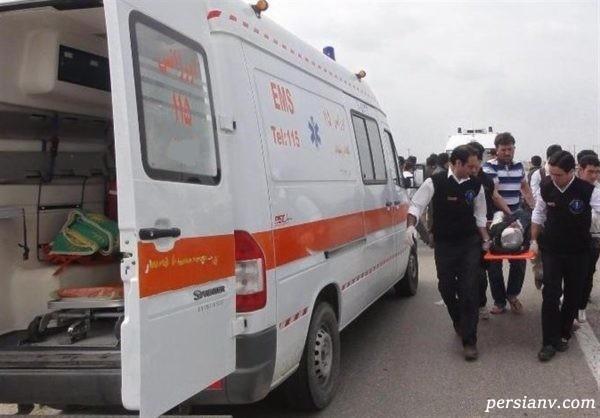 عجیب ترین حمله به اورژانس اصفهان در عملیات امدادرسانی به یک مصدوم