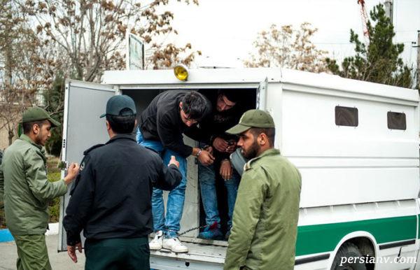 دستگیری باند زورگیری کرج