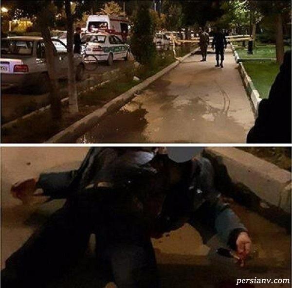 کشته شدن مرد اردبیلی