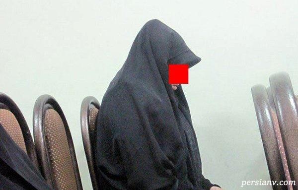 اسیدپاشی همسر روی شوهرش ، اصرار پسر بر قصاص مادرش را رقم زد !