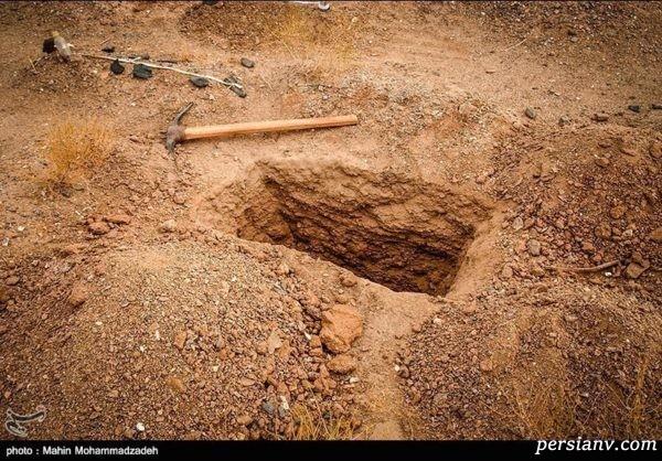 نبش قبر در خوزستان