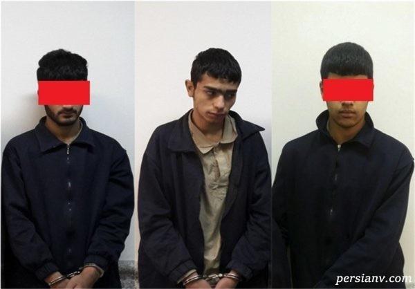 شکایت از مزاحمت خیابانی سه پسر جوان برای پیرزن تنها در پارک