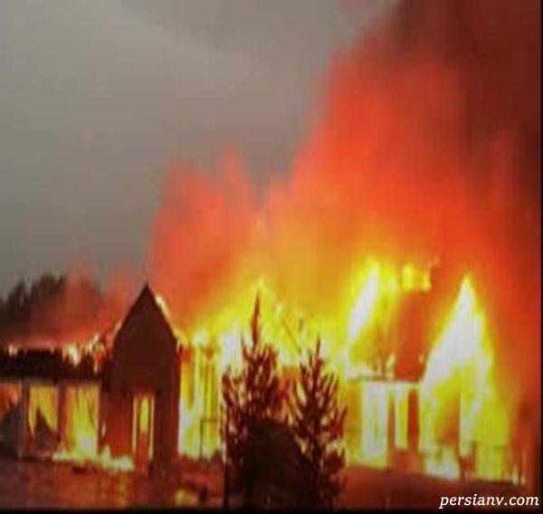 آتش سوزی در کانادا
