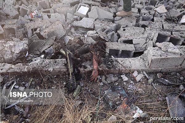 سقوط هواپیمای اوکراینی در تهران