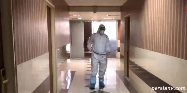 اولین فیلم از هتل قرنطینه ای کرونا در تهران
