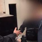 فیلم گروگانگیری مسلحانه دختر جوان در استاد معین تهران