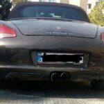 روش عجیب خفت گیری ماشین های گران قیمت در شهر