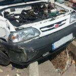 تصادف در یافت آباد ؛ زنی که با پرایدش به یک صف نانوایی برخورد کرد