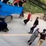 گفتگو با پسری که در گرگان سرش با تبر اراذل و اوباش شکافته شد + ویدیو