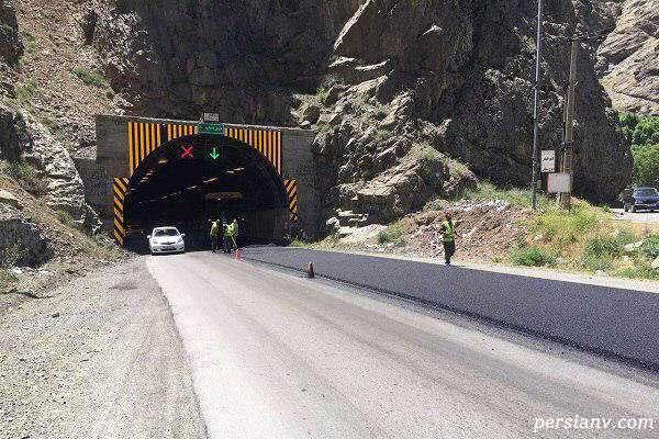 ریزش تونل آزادراه تهران شمال