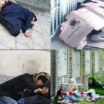 زنان کارتن خواب تهرانی کرونایی، آواره کف خیابان ها