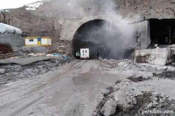 ویدیو از ریزش تونل آزادراه تهران شمال و کشف اجساد مدفون شده !