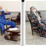 بازسازی صحنه قتل بابک خرمدین در منزلشان توسط پدر و مادر مقتول