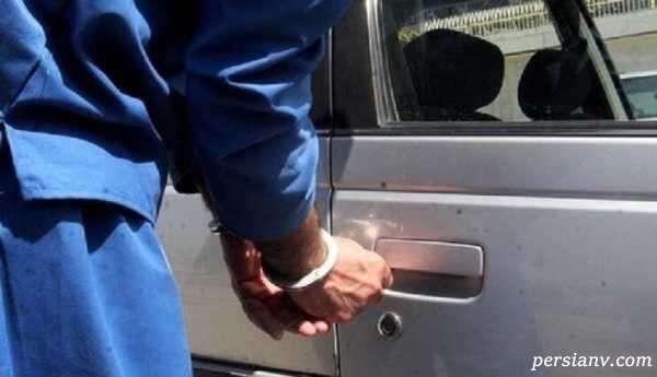 سارقان خودرو در مشهد