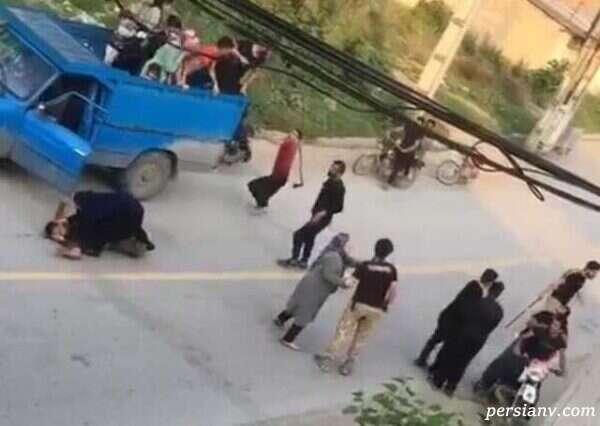 حمله به زنان در گلستان