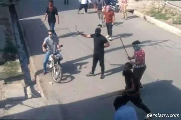 ویدیو از لحظه حمله وحشیانه اراذل به زنان بیدفاع با قمه و تبر در گلستان