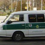 برخورد نامناسب گشت ارشاد و امنیت اخلاقی تهران با یک زن و واکنش پلیس!