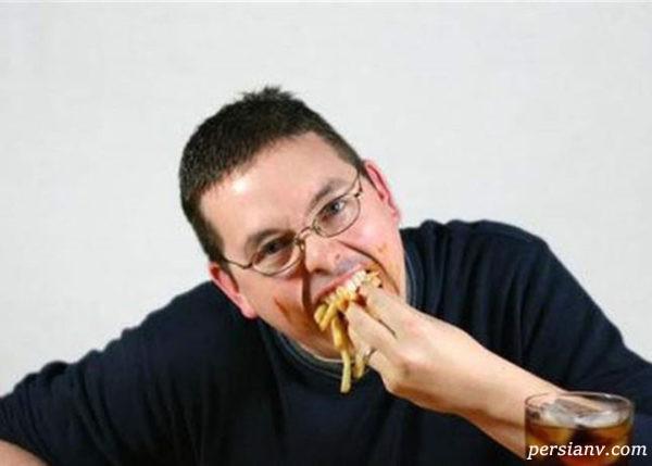 فال غذا خوردن