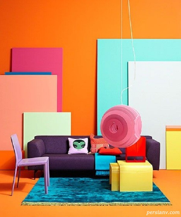 شخصیت شناسی جالب با رنگ دکوراسیون منزل