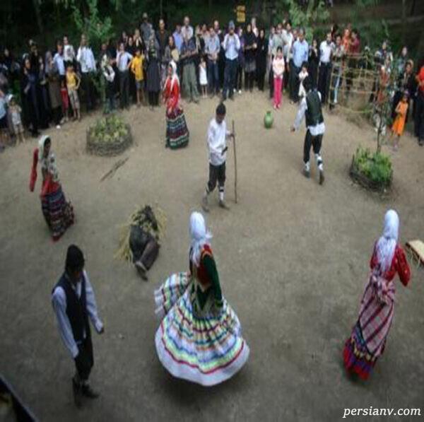 بازی محلی چمچه گلین چُمچَه گیلان