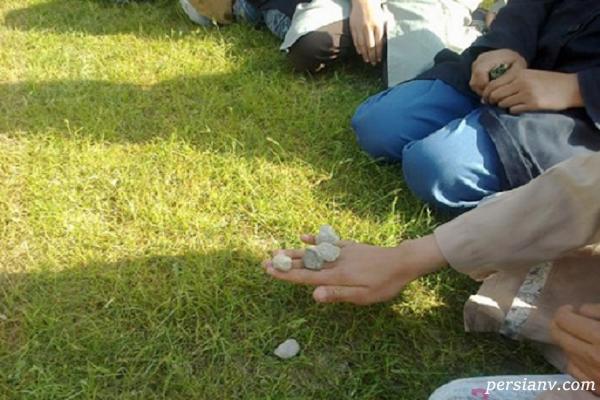 بازی جالب محلی قاچان مشترک بین پسران و دختران