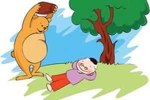 داستان ضرب المثل ، دوستی خاله خرسه