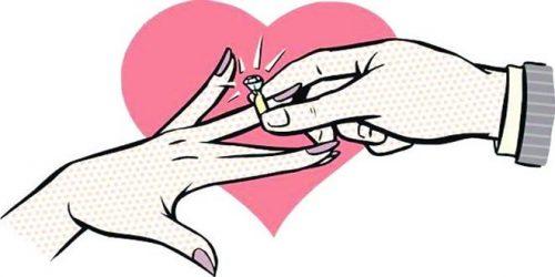طالع بینی ازدواج ماه ها با هم