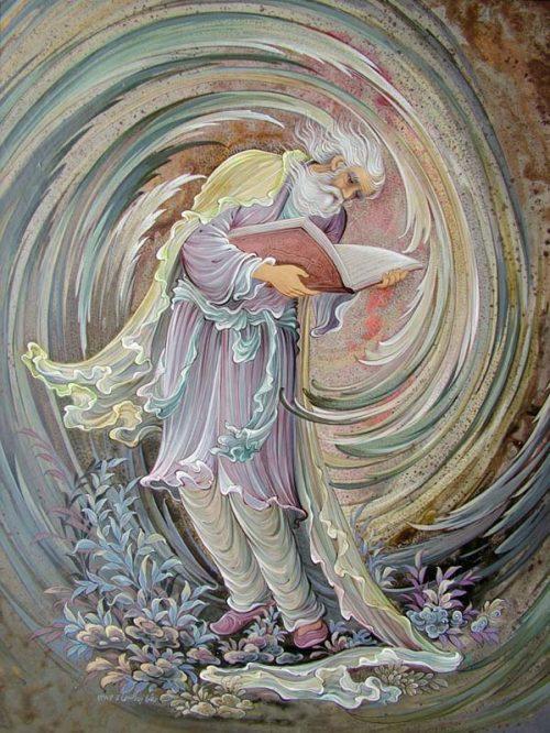 غزل شماره ۲۱ حافظ : دل و دینم شد و دلبر به ملامت برخاست