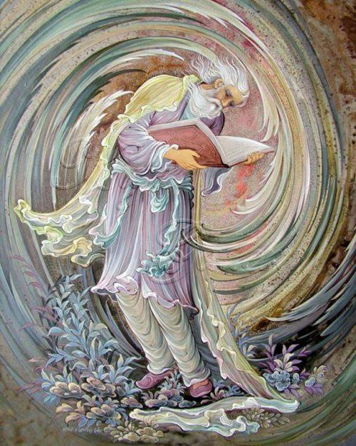 غزل شماره ۲۸ حافظ : به جان خواجه و حق قدیم و عهد درست