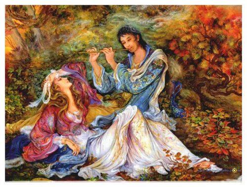 غزل شماره ۳۸ حافظ : بی مهر رخت روز مرا نور نماندست