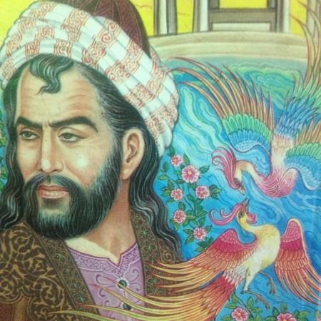 غزل شماره ۷۶ حافظ : جز آستان توام در جهان پناهی نیست