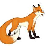داستان ضرب المثل دم روباه از زرنگی در تله است