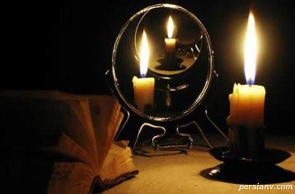فال ازدواج با استفاده از شمع و کلید