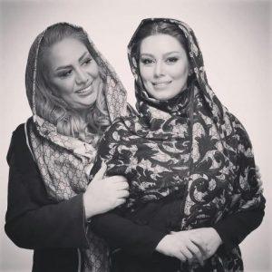 سحر قریشی و مادرش ندا افشار در جشنواره فیلم فجر +تصاویر