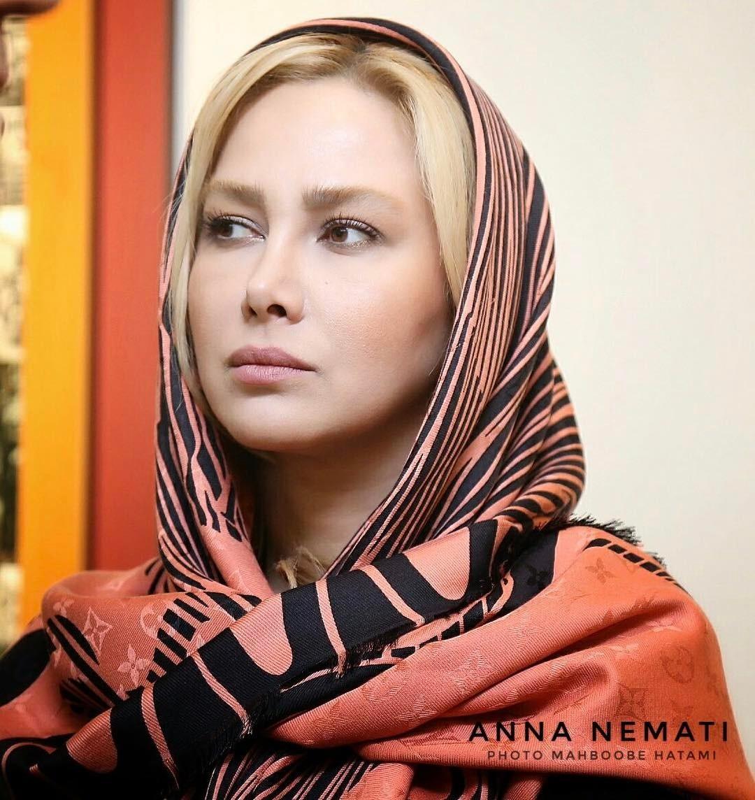 آنا نعمتی در اکران خصوصی مفت اباد +عکس