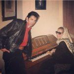 آموزش خوانندگی حسام نواب صفوی توسط پری زنگنه ! +عکس