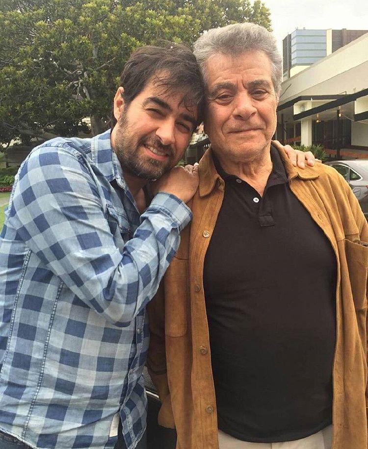 عکس جالب و صمیمی شهاب حسینی در کنار بازیگر قبل انقلابی در آمریکا