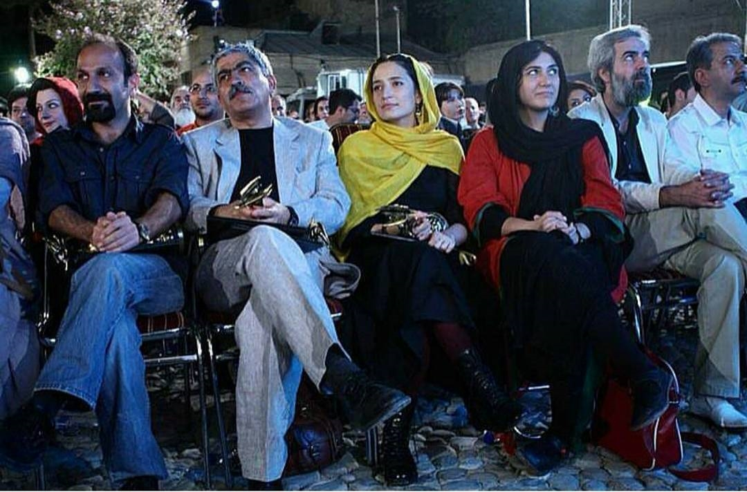 عکس جدید نگار جواهریان در کنار اصغر فرهادی و باران کوثری و…