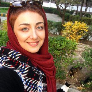 ویدا جوان و عکسی پر عشق در یک بوستان +عکس