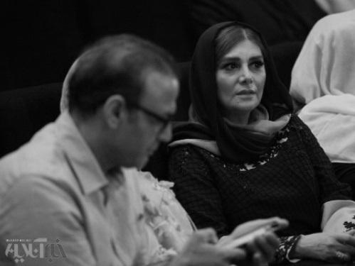هنگامه قاضیانی در مراسم معارفه شهاب حسینی +تصاویر