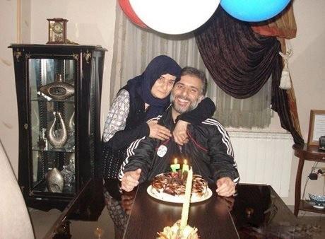 جشن تولد سید جواد هاشمی در کنار مادرش + عکس