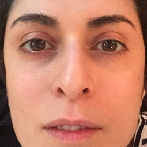 بهناز جعفری ، بازیگر مبتلا به ام اس نیز به چالش عکس بدون آرایش پیوست + عکس