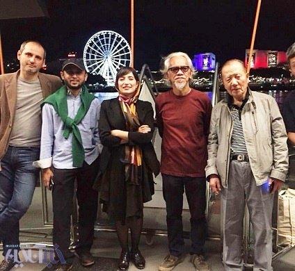 عکس جدید نگار جواهریان در جشنواره آسیاپاسیفیک
