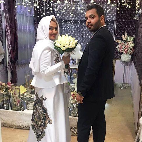 مراسم ازدواج فریبا باقری مجری تلویزیون و رادیو برگزار شد!