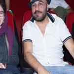 رضا عطاران و همسرش در مراسم اکران فیلم نهنگ عنبر