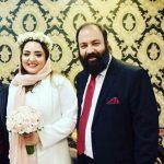عکس های جدید عروسی نرگس محمدی و علیی اوجی